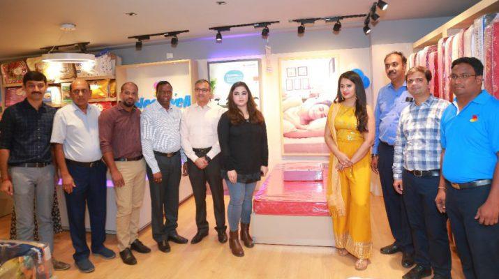 Actress Nikita Bisht Launches Sleepwell world Retail Showroom at Gachibowli 5