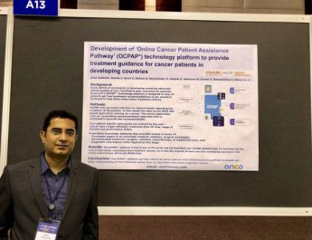 Amit Jotwani - Cofounder and Chief Medical Affairs Oncodotcom - at ASCO