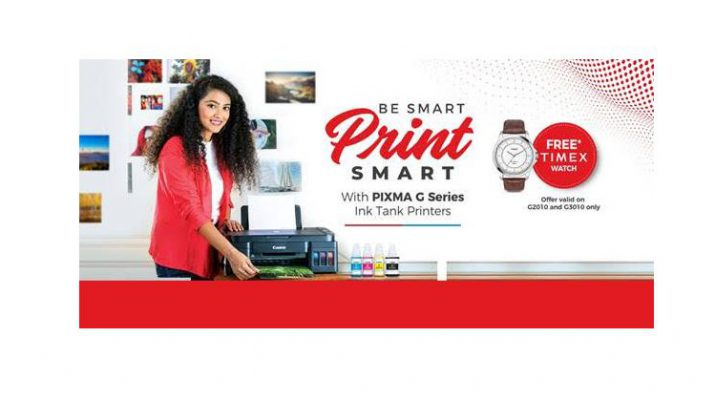 Canon India Launches Festive Campaign - Be Smart Print Smart