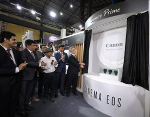 Canon India exhibits ground breaking technology at Broadcast India Show 2019 2