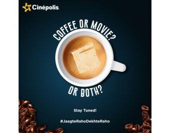 Cinépolis celebrates International Coffee Day with an impressive movie marathon