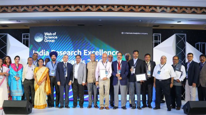 Clarivate Analytics announces India Research Excellence Awards 2019 - Award Winners