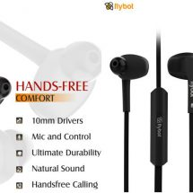 Flybot Strike Wired Earphone launch in India for Rs. 599/-
