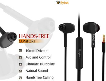 Flybot Strike Wired Earphone launch in India