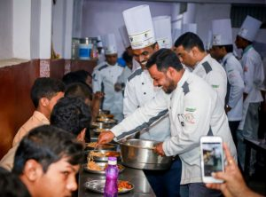 Freedom Healthy Cooking Oils and Telangana Chefs Association joined hands to brighten the day for kids from Devnar Blind School 2