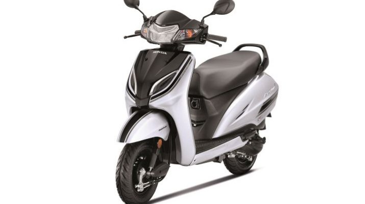 Limited Edition Honda Activa 5G - Strontium Silver Metallic with Pearl