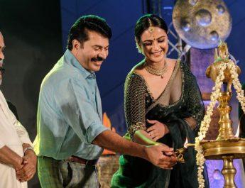 Mammootty - Prachi Tehlan starrer Mamangam - Music Launch - First song Mukkuthi