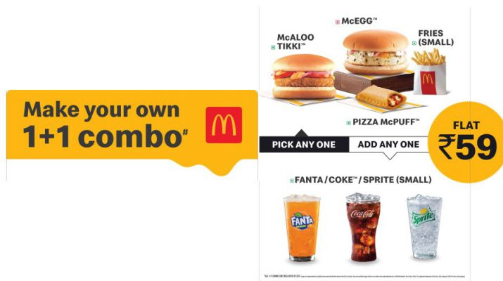 McDonalds ushers in the excitement of the festive season with irresistible McSaver combos in North and East India