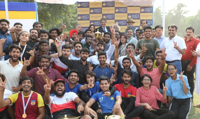 Sangathan 2019 - Winners Amity School of Engineering and Technology 2