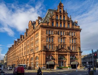 Twenty14 Holdings Waldorf Astoria Edinburgh Among Top 10 Hotels in the United Kingdom