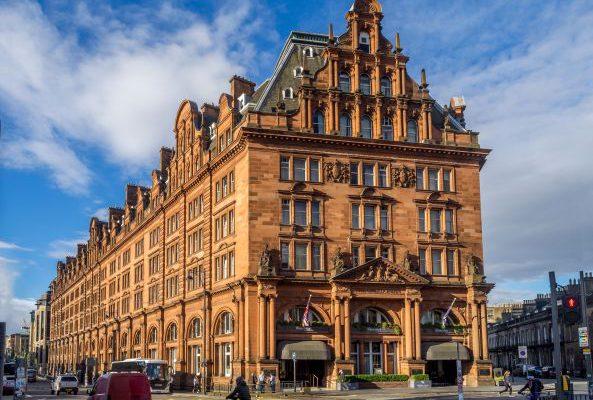 Twenty14 Holdings Waldorf Astoria Edinburgh Among Top 10 Hotels in the United Kingdom