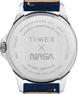 Timex Celebrates Space History with New NASA Logotype Wristwatch - TW2T95900-D