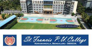 ST Francis College Koramangala Bangalore Karnataka