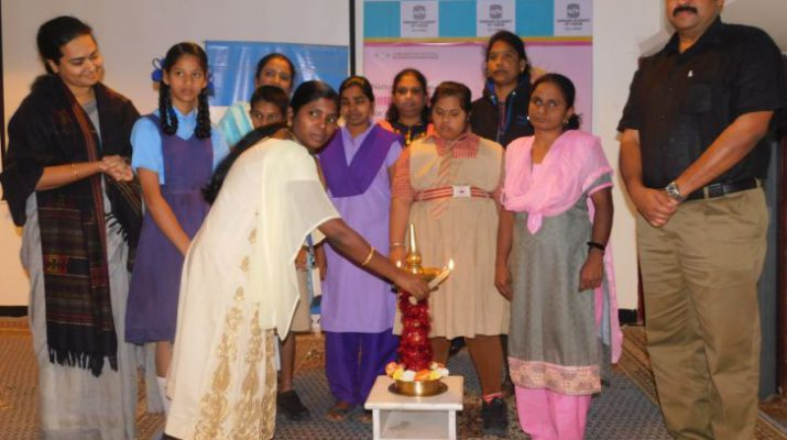 Sankara Eye Hospital organizes child sexual abuse awareness workshop for specially challenged girl children