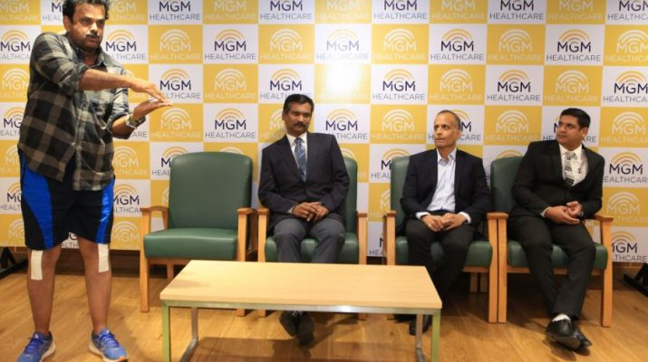Shihan Hussaini underwent a successful bilateral total knee replacement surgery at MGM Healthcare - Photo 2