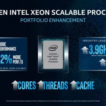 Intel Reinforces Data Center Leadership with New 2nd-Gen Intel Xeon Scalable Processors
