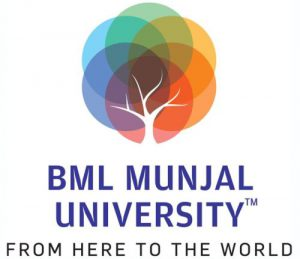BML Munjal University Logo Square