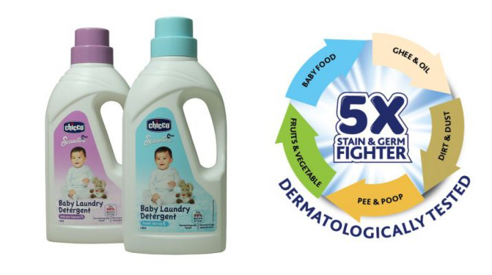 Best Choice for Babies Clothes - Chicco New Laundry Detergent