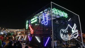 CROCS recent display at Vh1 Supersonic Music Festival