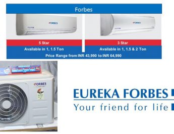 Eureka Forbes launches Health Conditioners - new ACs Orig