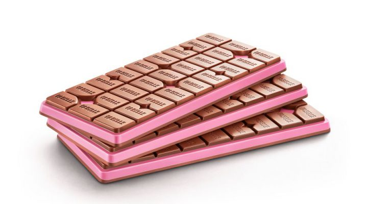 Fabelle Choco Deck Milk and Ruby Chocolate - Confectionary Product