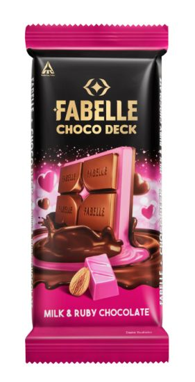Fabelle Choco Deck Milk and Ruby Chocolate - Product Package