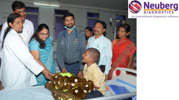 L to R - Dr Nirmala - RMO Dr Smitha - Neuberg Diagnostics Dr Vishal and Dr Srinivas