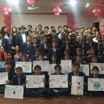 Paras Hospital Gurugram creates awareness  on World Cancer Day with students and survivors