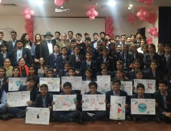 Paras Hospital Gurugram creates awareness on World Cancer Day with students and survivors 9