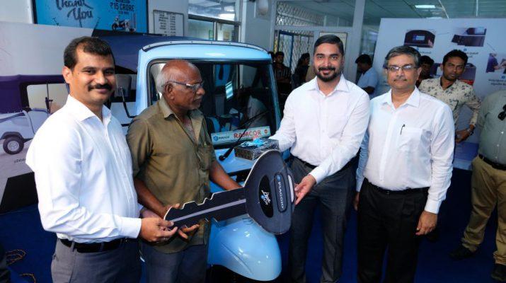 Piaggio Ape E-City - First Customer Delivery in Vijayawada
