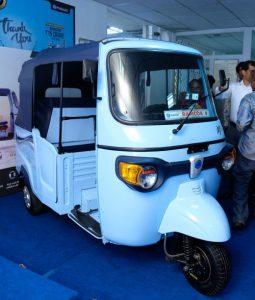 Piaggio launches Ape E-City in Vijayawada
