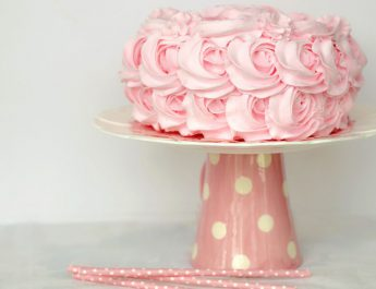 ROSE PARADISE CAKE by Chef Zaheer Ahmed - Jaypee Vasant Continental