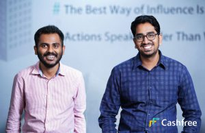 Reeju Datta Co-Founder of Cashfree and Akash Sinha CEO and Co-Founder of Cashfree