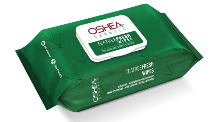 Refresh your Skin with - Oshea Herbals Teatree Fresh Wipes