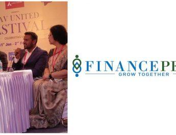 Rohit Gajbhiye - Founder of Financepeer at DAV united festival 2020