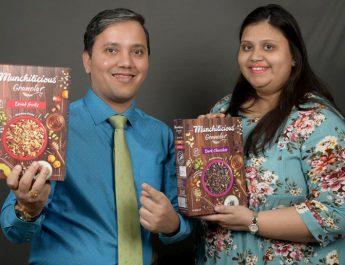 Rohit Pugalia and Purvi Pugalia - Founders of SOCH Foods LLP
