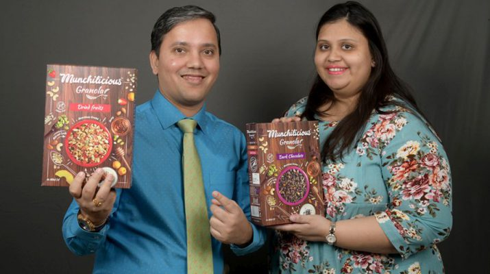 Rohit Pugalia and Purvi Pugalia - Founders of SOCH Foods LLP
