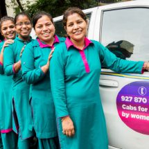 Sakha 'Women With Wheels' – Women driven Cabs launched from IGI Airport Terminal-3