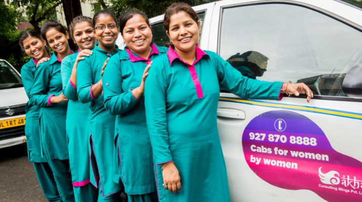 Sakha Women With Wheels - Women driven Cabs launched from IGI Airport Terminal-3