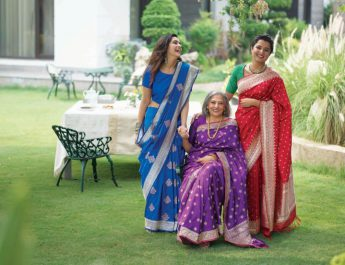 Taneira from Titan - Exquisite Banaras Silks in rich festive hues