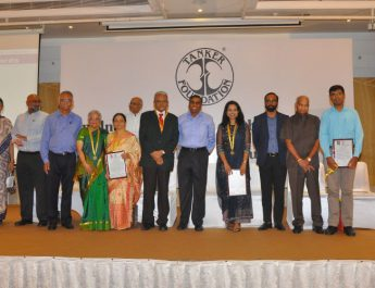 Tanker Foundation honours Dr R M Anjana - Managing Director of Dr Mohans Diabetes Specialities Centre
