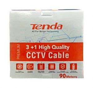 Tenda Premium Coaxial 3 in 1 CCTV Cable Box