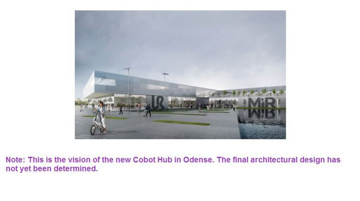 This is the vision of the new Cobot Hub in Odense