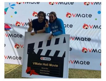 Top YouTubers Bhuvan Bam and Ashish Chanchlani First Time Collaborate for VMate Holi Movie
