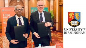 University of Birmingham Signs up for Strategic Research Vision in India