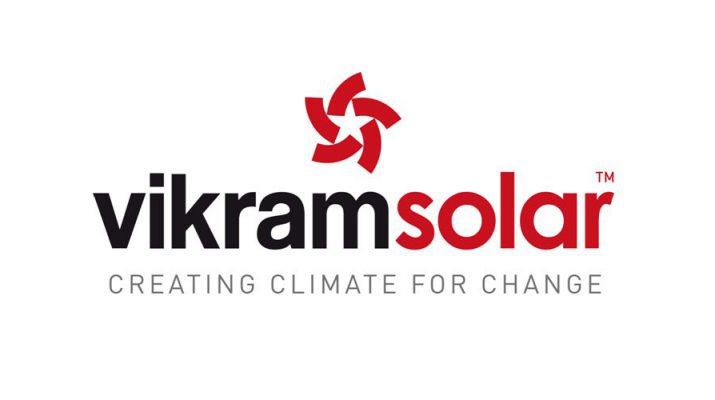Vikram Solar Logo Large