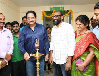 Actor Suman Inaugurates 1st Nagarjuna Ayurveda at KPHB