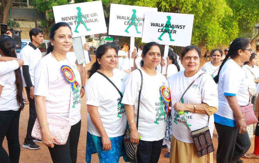 Aster RV Hospital organizes Walk Against Cancer marathon to raise awareness on cancer among women - Walkathon 3-min
