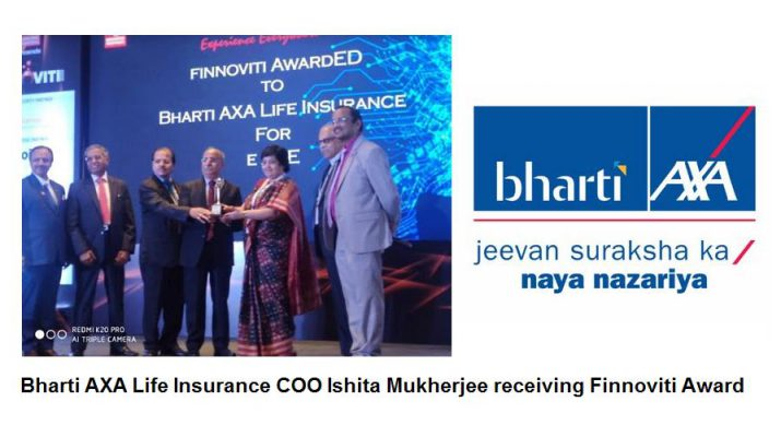 Bharti AXA Life Insurance Wins Finnoviti Award 2020 for Excellence in Innovation