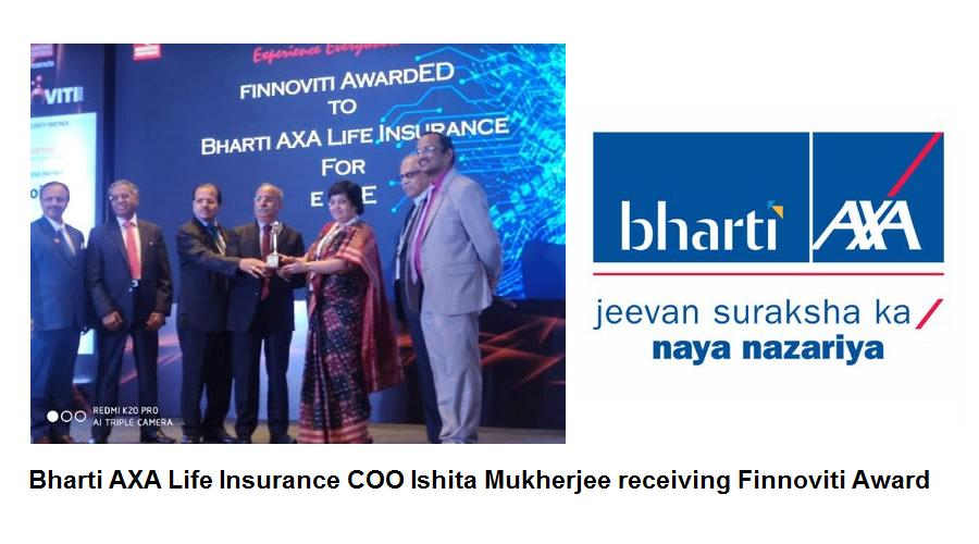 Bharti AXA Life Insurance Wins Finnoviti Award 2020 for Excellence in Innovation